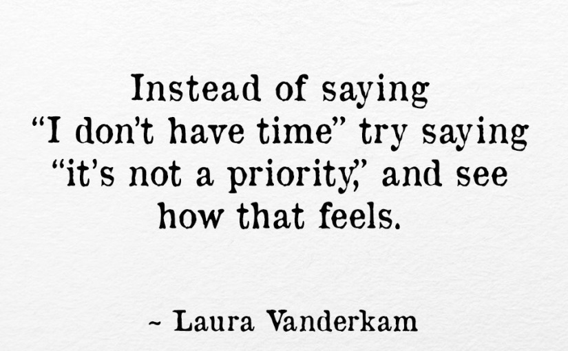 It's Not A Priority
