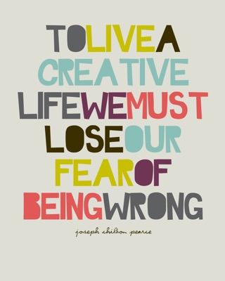 Creativity = Risk
